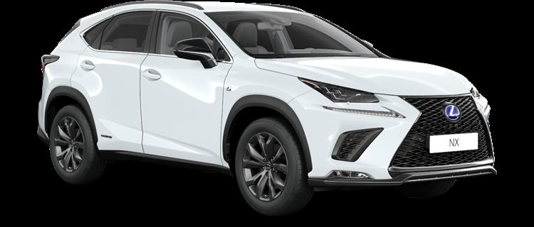 NX 300h E-FOUR F SPORT Edition 2020 / Biały F