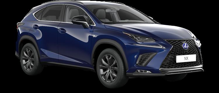 NX 300h E-FOUR F SPORT Edition 2020 / Heat blue metalik